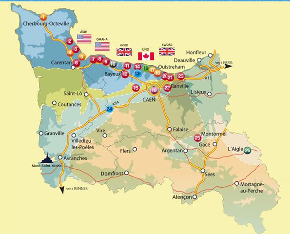 D Day Beaches Map Book
