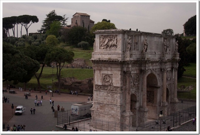 2009 04 08 Rome Arch of Constantine