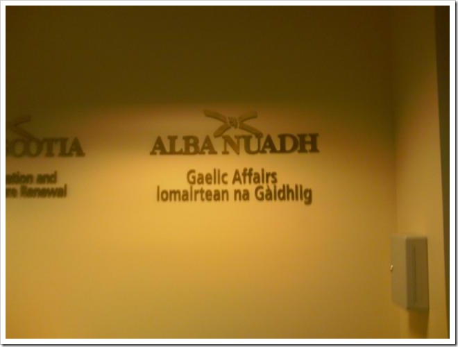 Ministry of Gaelic Affairs Nova Scotia