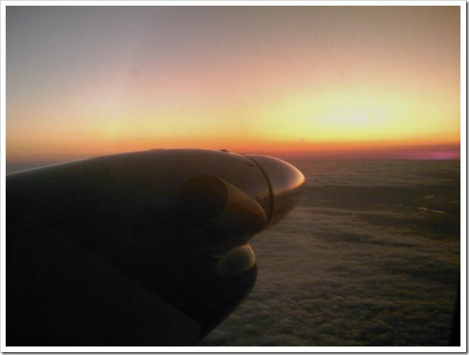Flying to St John NB