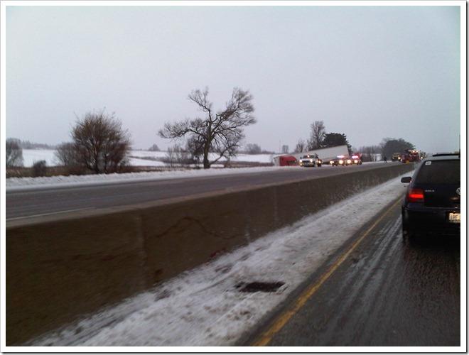 Highway 400 Jacknife