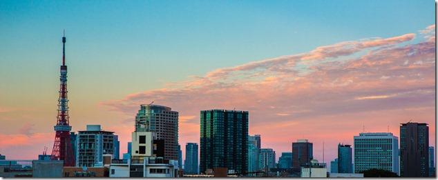2012 08 14 Tokyo Skyline _