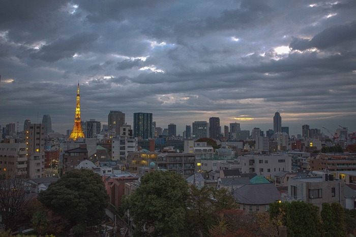 2012 11 19 Tokyo Skyline_