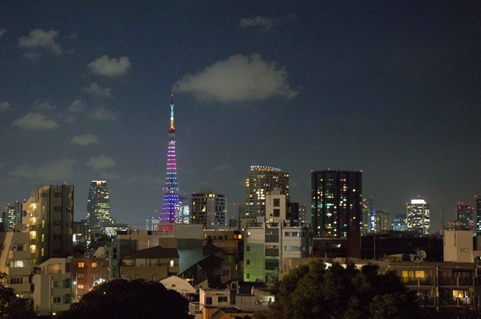 2012 07 31 Tokyo Skyline _
