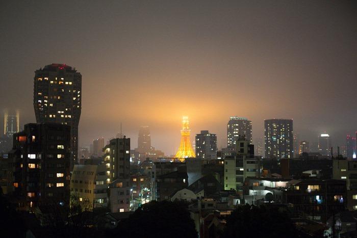 2012 10 28 Tokyo Skyline _