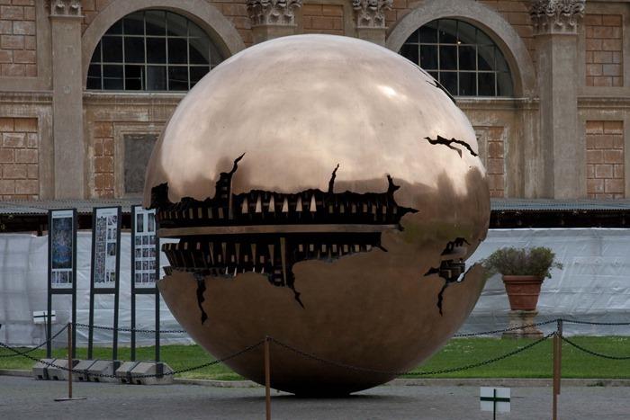 2009 04 09 Vatican Sphere Within Sphere