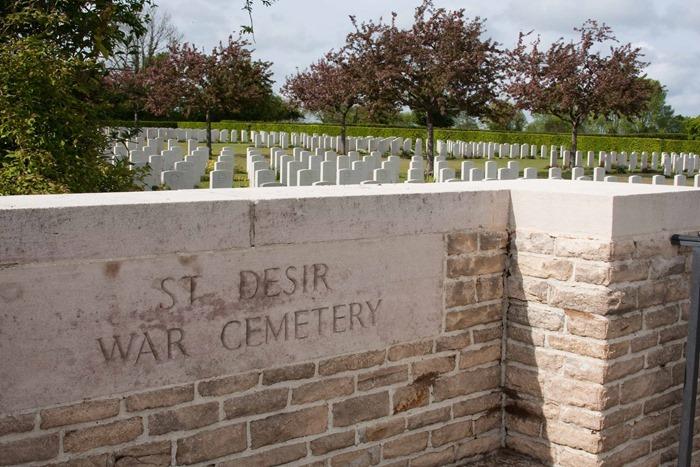 2009 05 03 St Desire War Cemetery_