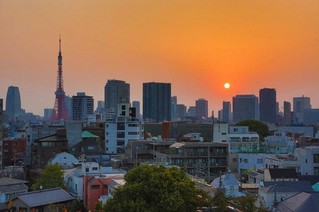 2014 04 17 Tokyo sunrise_