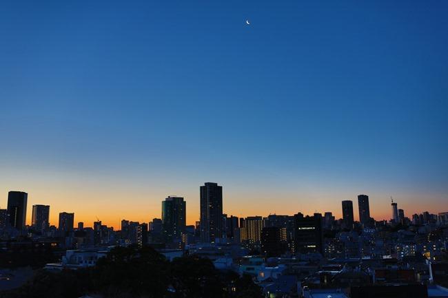 2014 01 27 Tokyo skyline_