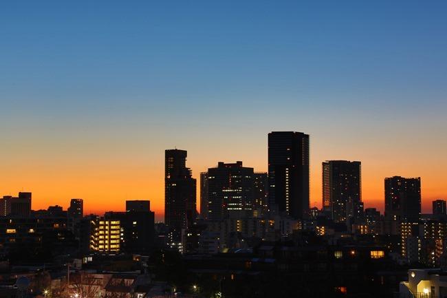 2014 01 31 Tokyo skyline_-2
